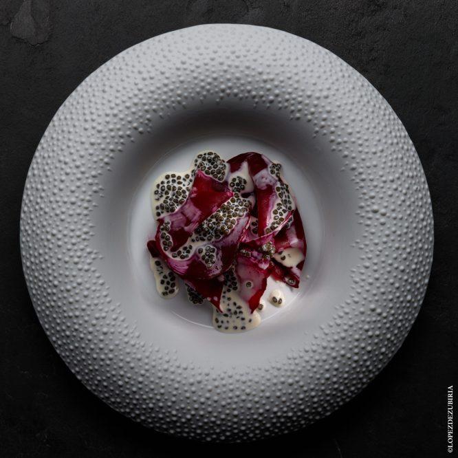 Betterave, sauce caviar Osciètre@lopezdezubiria (4)_mit Credits