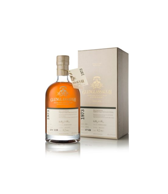 Glenglassaugh 1973 bottle infront