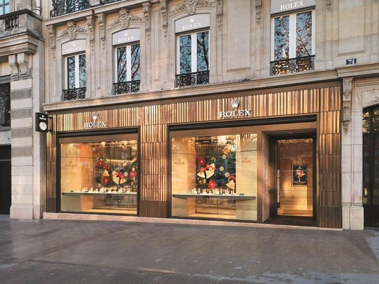 Boutique Rolex Champs-Elysées © Pascal Mendez