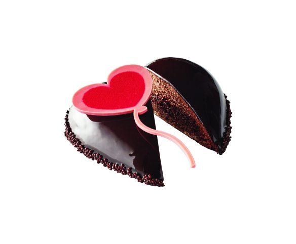 Entremets coeur leger chocolat 179