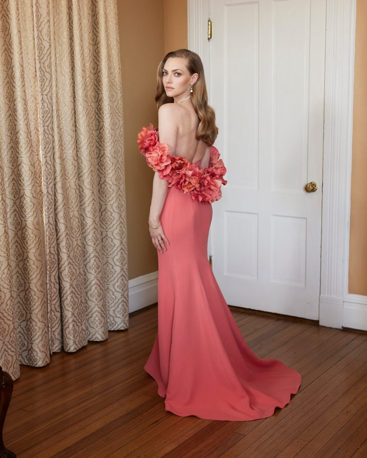 Amanda Seyfried at the 78th Golden Globes with Jaeger-LeCoultre @Marcusmam