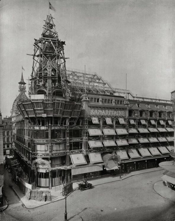 Fiche_5_Magasin_2_en_construction_rue_de_la_Monnaie_vers_1905_La_Samaritaine