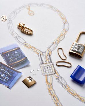 42. LA GIOIA di Pomellato_LOCK CHAIN Necklace_making of