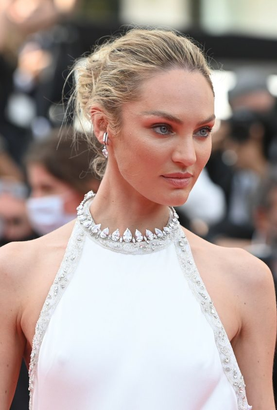 Candice Swanepoel in Messika - Cannes Film Festival - 07072021 (2)