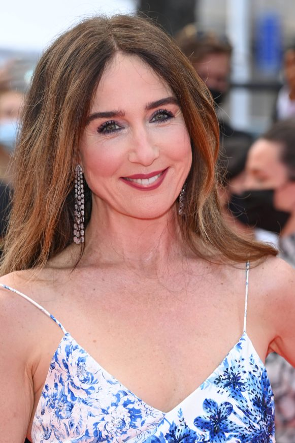 """CANNES, FRANCE - JULY 15: Elsa Zylberstein attends the """"France"""" screening during the 74th annual Cannes Film Festival on July 15, 2021 in Cannes, France. (Photo by Daniele Venturelli/WireImage)"""