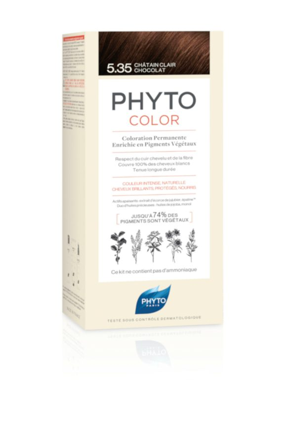 PHYTOCOLOR - 5.35 - CHATAIN CLAIR CHOCOLAT