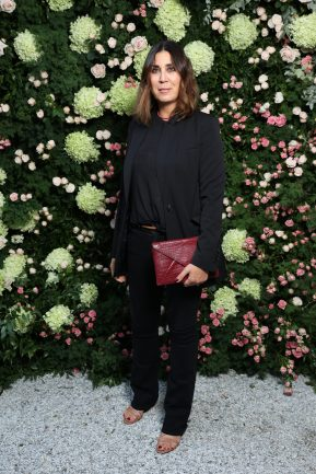 MILAN, ITALY - SEPTEMBER 23: Eleonora Pratelli is seen at Michael Kors intimate Cocktail Party in Celebration of his 40th Anniversary on September 23, 2021 in Milan, Italy. (Photo by Victor Boyko/Getty Images for Michael Kors)
