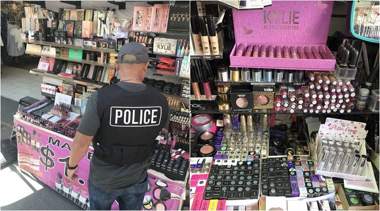 Police taking action on counterfeits of popular cosmetic brands