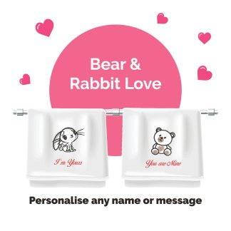 couple-edition-bear-rabbit-love-luxurious-towels