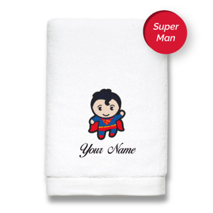 superhero-edition-superman-luxurious-towels