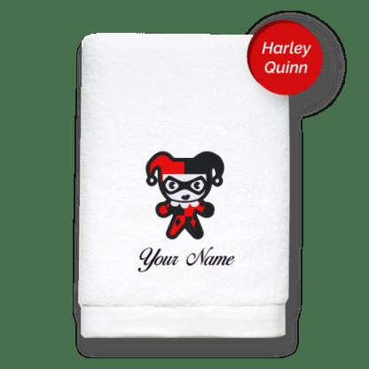 villain-edition-harley-quinn-luxurious-towels
