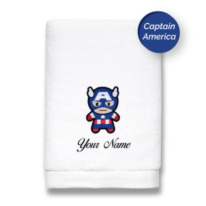 superhero-edition-captain-america-luxurious-towels