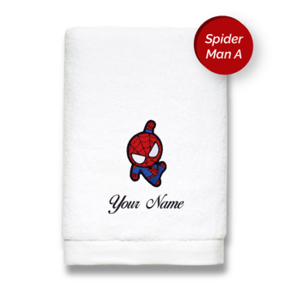 superhero-edition-spiderman-a-luxurious-towels