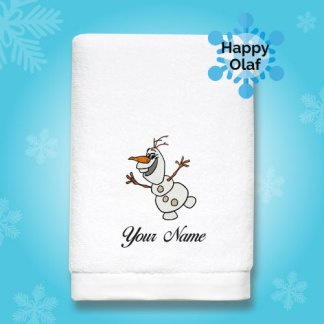 frozen-edition-luxurious-towel-HAPPY-OLAF