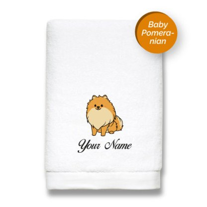 dog-edition-luxurious-towels-POMERANIAN