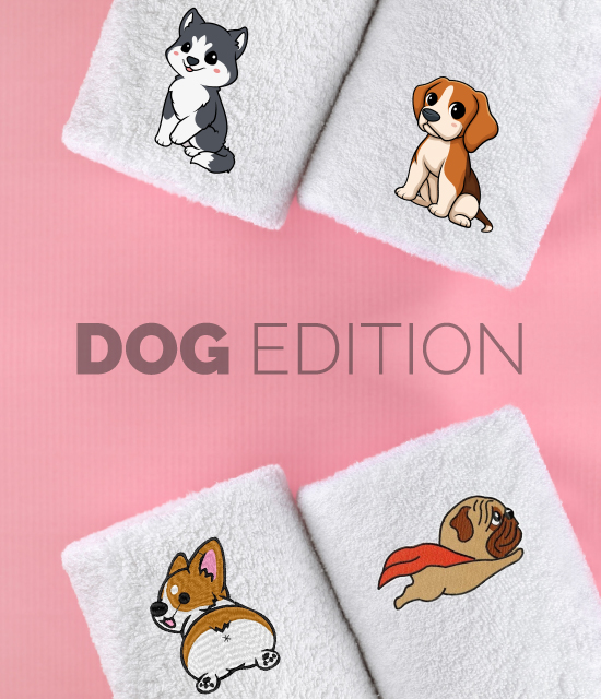 Dogs-Edition-Luxurious-Personalised-Towels
