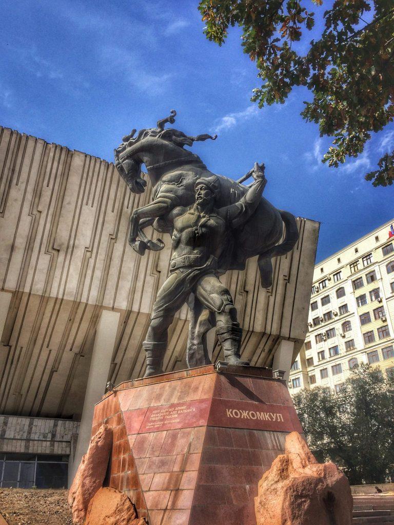 Monument to Baatyr Kaba Uulu Kozhomkul