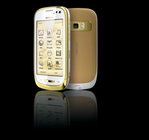 Nokio Oro Smartphone in Gold - The Nokia vision of a luxury smartphone