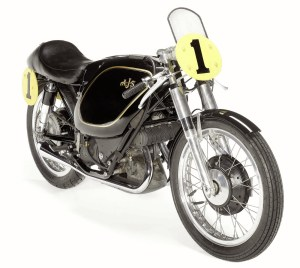 A 1954 AJS E95 Porcupine for sale by Bonhams in August