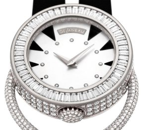 The beautiful Delaneau Open Magic collection of watches