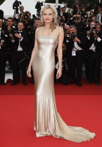 Diane Kruger on the red carpet at the 64th Cannes Film Festival, May 12th, 2011