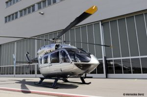 The Eurocopter EC145 Helicopter in conjunction with Mercedes Benz Advanced Design Studio