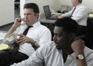 Ben Affleck wore the Piaget Polo Forty Five in his new movie 'The Company Men'.