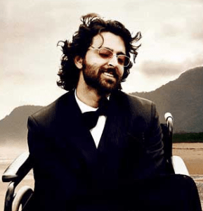 Hrithik took on perhaps his most challenging role as Qudraplegic former magician Ethan Mascarenhas in the movie 'Guzaarish'