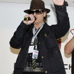 Rockstar Udo Lindenberg unveils Porsche GT3 painting for his charity