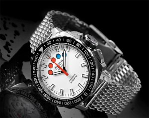 Alpina Watches Geneve have developed the automatic Yacht Timer caliber AL-880 in-house
