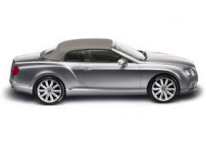 The new Bentley Continental GTC - Bold, contemporary with sculpted design