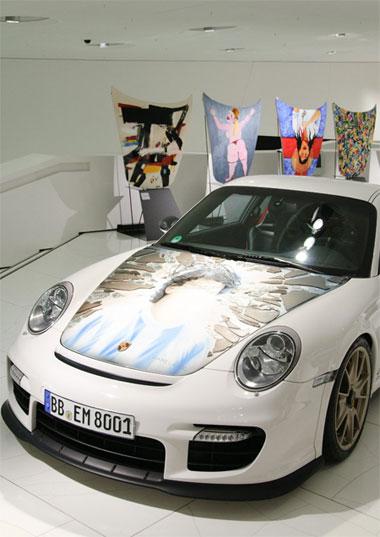 Porsche unveils the Colección Goméz exhibition combining art and motoring 2