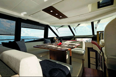The Azimut Magellano 50 The first modern and luxury long range yacht