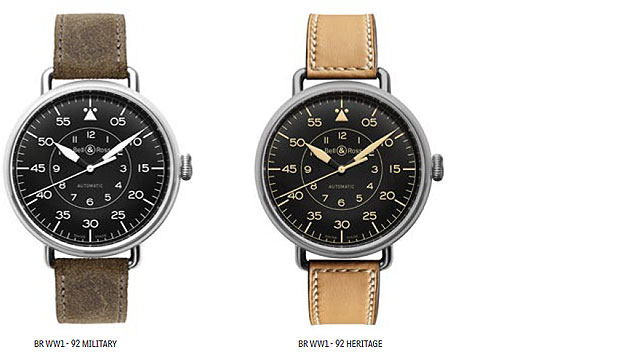 The Bell & Ross Vintage PW1 and WW1 Fob Watch and Wristwatch 5