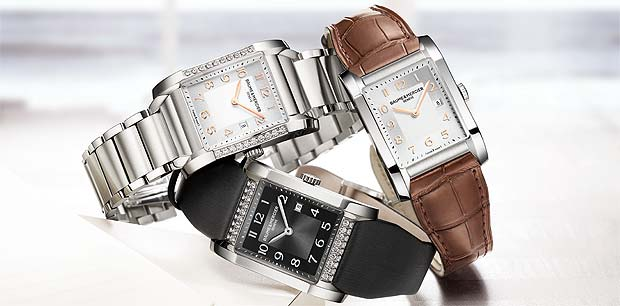 The Baume and Mercier Hampton watch for ladies