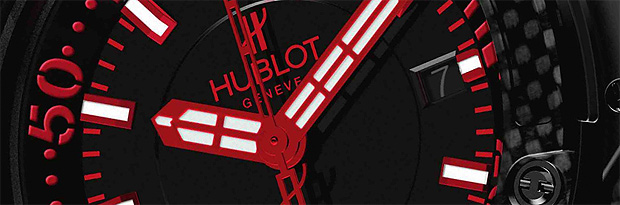 Hublot Genève Oceanographic 4000 carbon fiber and titanium divers watch