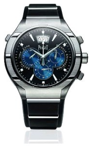 Piaget Polo FortyFive chronograph with blue dial