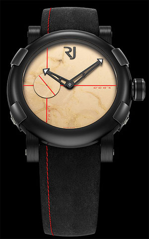 Romain Jerome Rock the Rock DNA stainless steel and ceramic watch