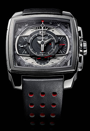 TAG Heuer Monaco Mikrograph 1/100th of a Second Chronograph