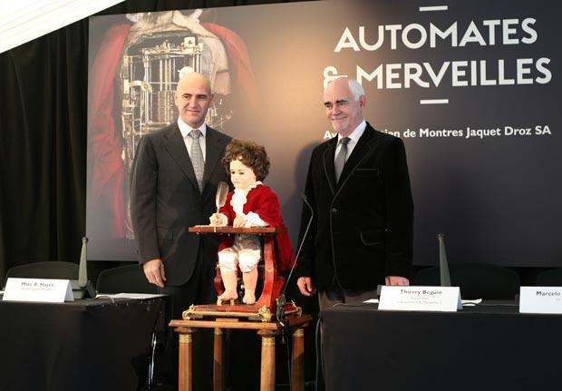 Watch Brand Montres Jaquet Droz to support the Automates & Merveilles Exhibition