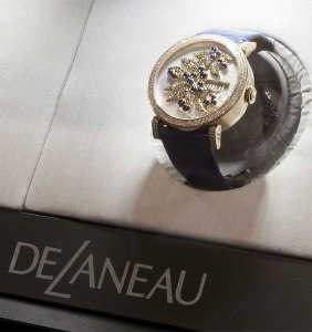 The opening of the Harrods corner in London is yet another illustration of DeLaneau Watches worldwide expansion.