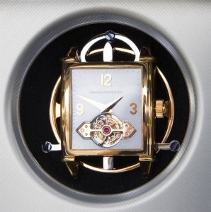 The collaboration between Pininfarina and luxury Swiss watchmakers Girard-Perregaux