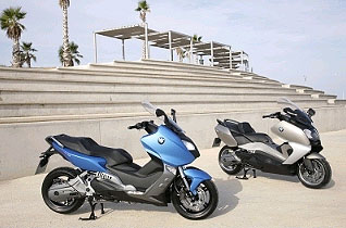The BMW C 600 Sport and BMW C 650 GT Maxi Scooters For Dynamic Riding