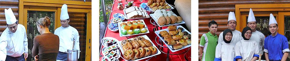 Breakfast in the Royal Villa at the Philea Resort