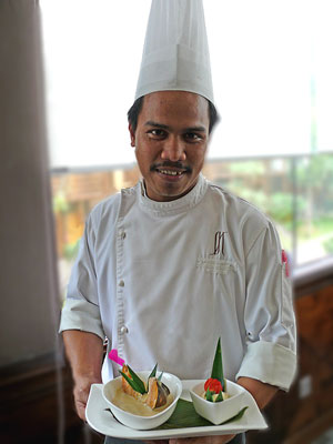 We loved the personal service from the Chefs during our stay at the Royal Villa at the Philea Resort