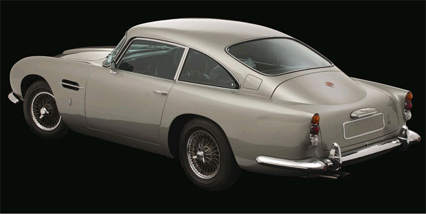 The Aston Martin DB5 owned by Beatle George Harrison sells for £350,000 at auction