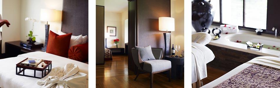 The accommodation at the Club at Saujana Resort in Kuala Lumpur