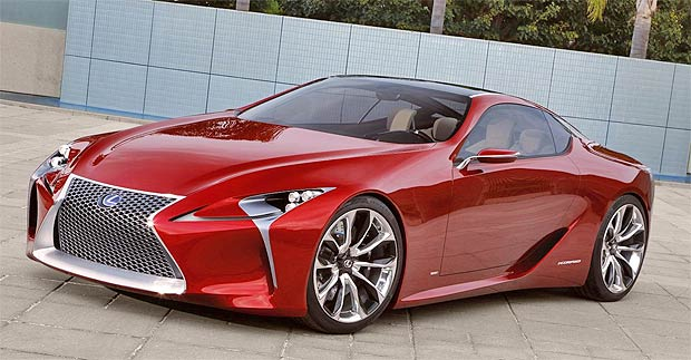 Lexus wow us again as they present the Lexus LF-LC Hybrid Sports Coupe Concept