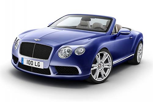 Both the coupe and convertible will be launched with 20-inch wheels as standard and customers will also be able to select from two 21-inch wheel designs especially created for the Continental V8 models.