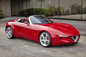 The award winning 2uettottanta ceoncept car by Pininfarina will be at the Qatar Motor Show